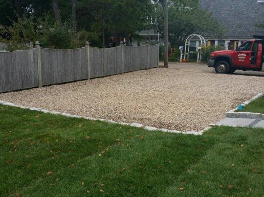 best crushed driveway contractor cape cod